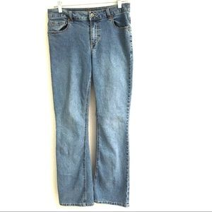Duplex by Tyte boot cut jeans 10